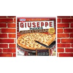 Dr. Oetker Giuseppe Pizzeria Thin Crust Multigrain 5 Cheese Sausage Pizza