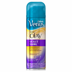Gillette Venus with a Touch of Olay Violet Swirl Shave Gel
