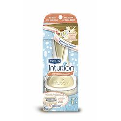 Schick Intuition Pure Nourishment with Coconut Milk and Almond Oil Razor