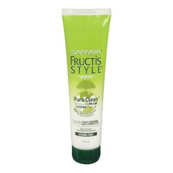 Garnier Fructis Pure Clean Smoothing Cream - Net Wt: 5.1 Fl. OZ./ 150 mL