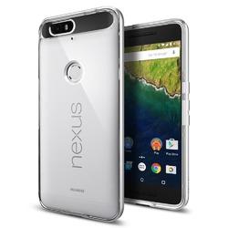 Spigen Satin Silver Clear TPU Nexus 6P Case