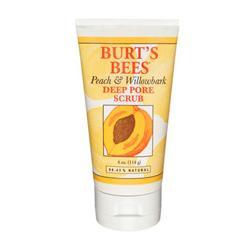 Burt's Bees Peach and Willowbark Deep Pore Scrub