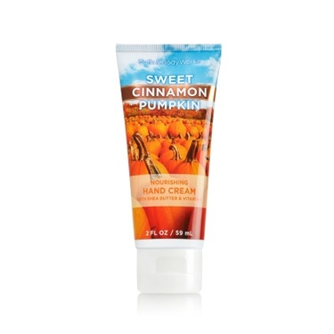 Bath & Body Works Sweet Cinnamon Pumpkin hand cream