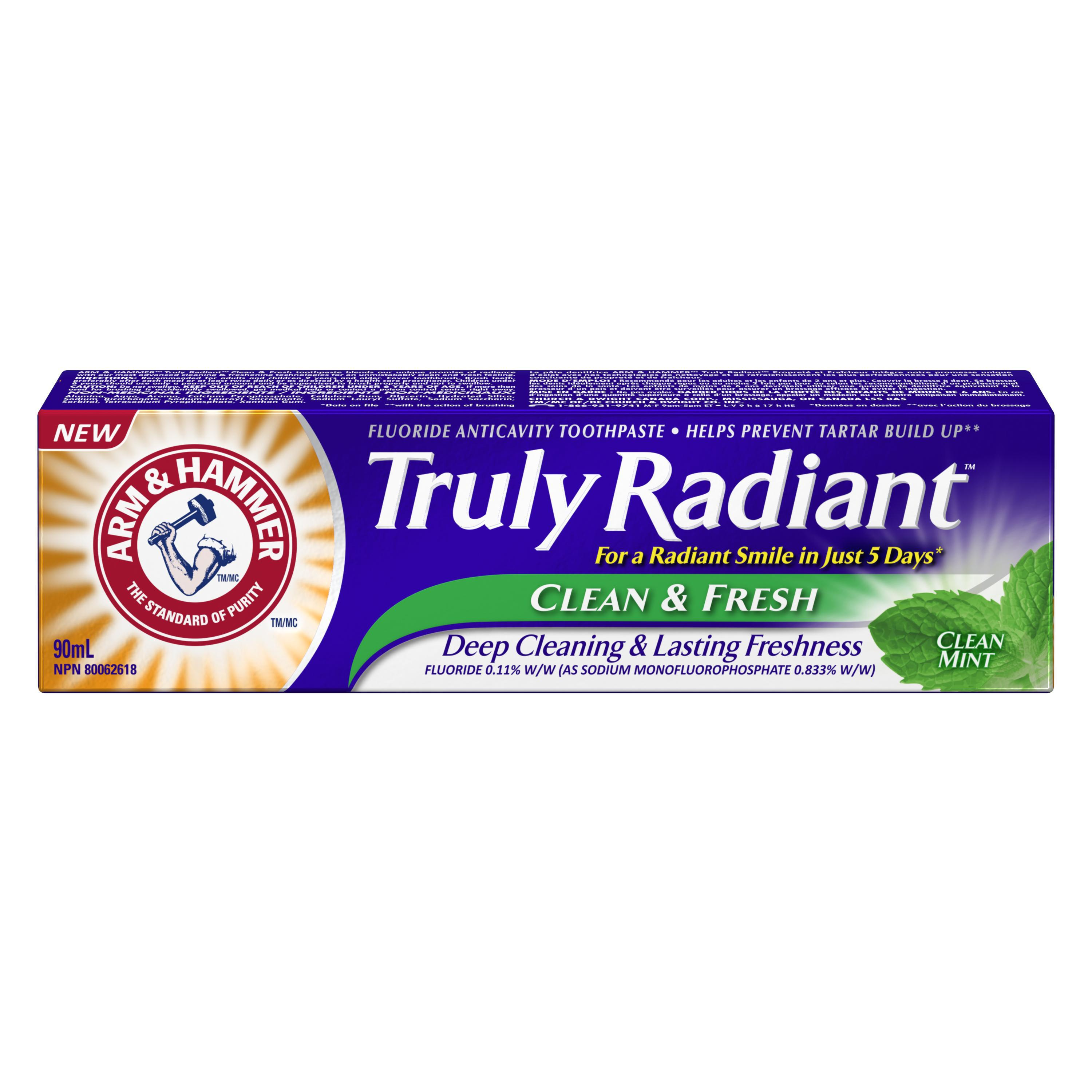 Arm Amp Hammer Truly Radiant Clean Amp Fresh Toothpaste