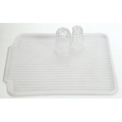 Amco 20-Inch by 16-Inch Clear Drain Mat
