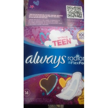 Always Radiant Totally Teen