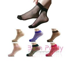 Born Pretty Store Core Spun Transparent Socks!