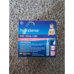 Hydrasense Baby Nasal Care Easy Dose Reviews In Baby