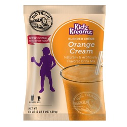Orange Cream Kidz Kreamz Frappé Mix