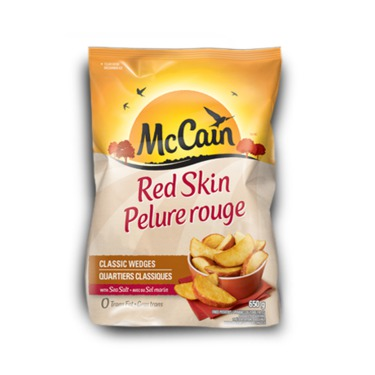 McCain Red Skin Wedges