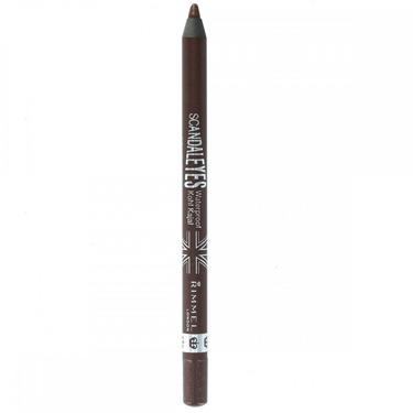 rimmel scandaleyes waterproof eyeliner brown