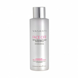 Vasanti Face Off Makeup Remover for Eyes and Face