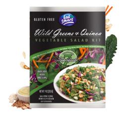 Eat Smart Wild Greens and Quinoa Salad Kit