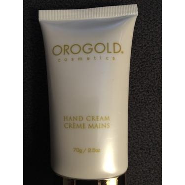 Orogold cosmetics hand cream