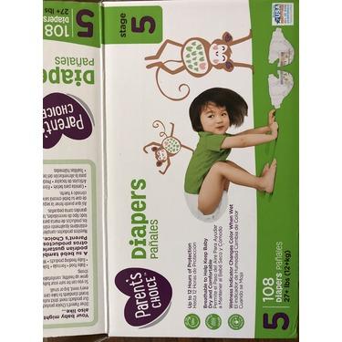 Parents Choice Diapers size 5