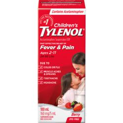 Tylenol Children's Fever&Pain;