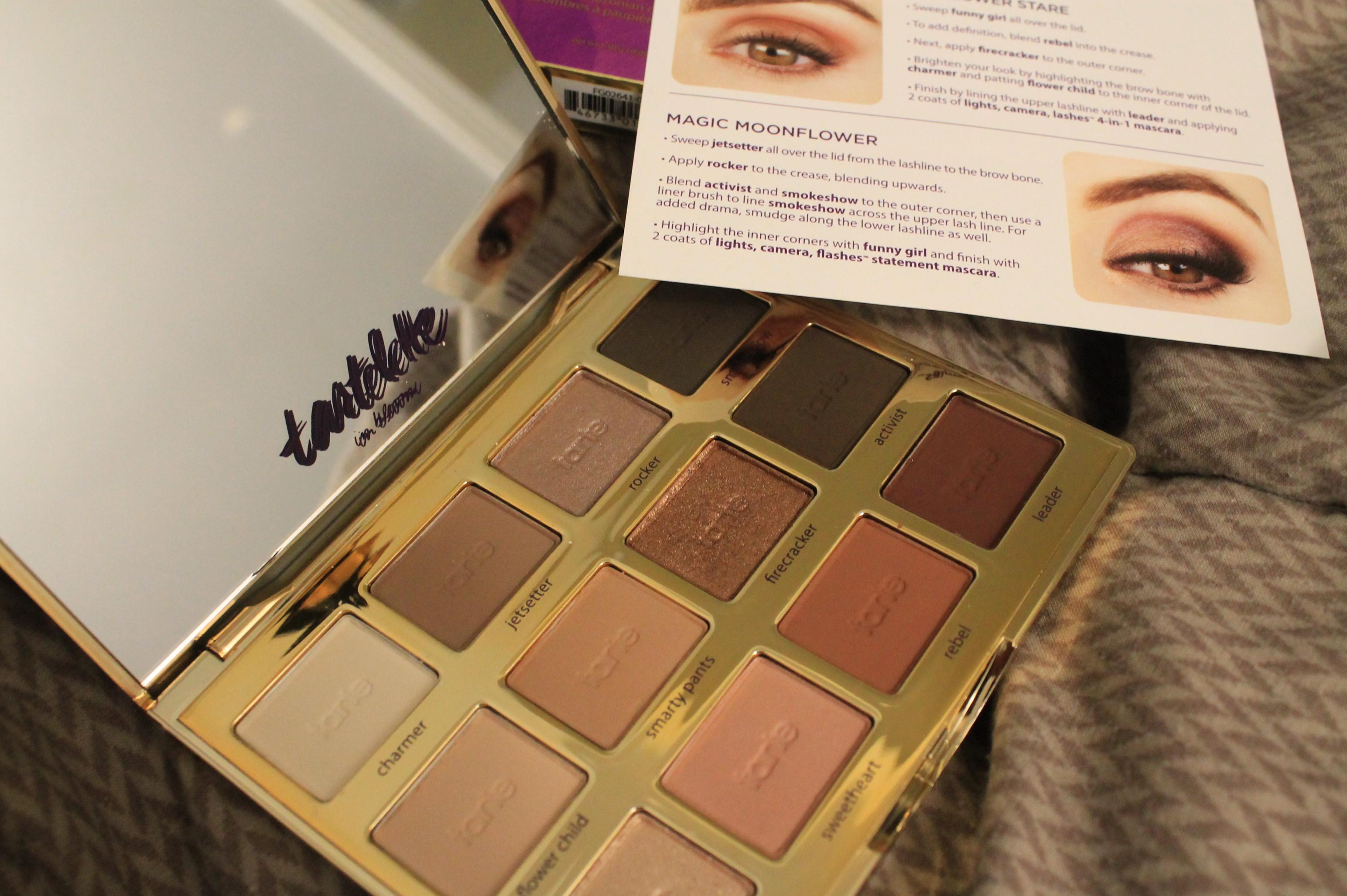 34800178e Tarte Tartelette In Bloom Clay Eyeshadow Palette reviews in Eye ...