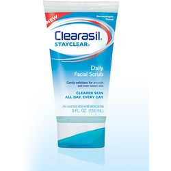 Clearasil StayClear Daily Facial Scrub