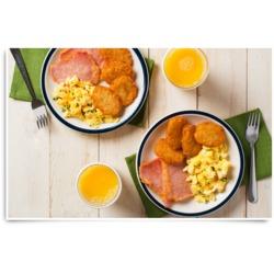 McCain Potato Pancake Breakfast Sandwich Recipe