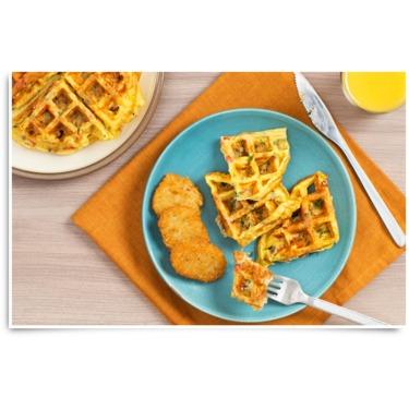 McCain Potato Pancake Frittata Waffles Recipe