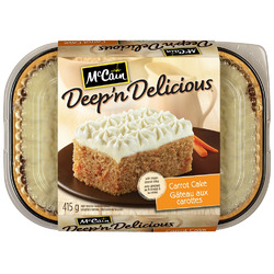 McCain Deep 'n Delicious Carrot Cake
