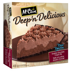 McCain Deep 'n Delicious Double Chocolate Cream Pie