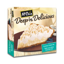 McCain Deep 'n Delicious Coconut Cream Pie