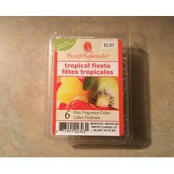 Scentsationals tropical fiesta wax cubes