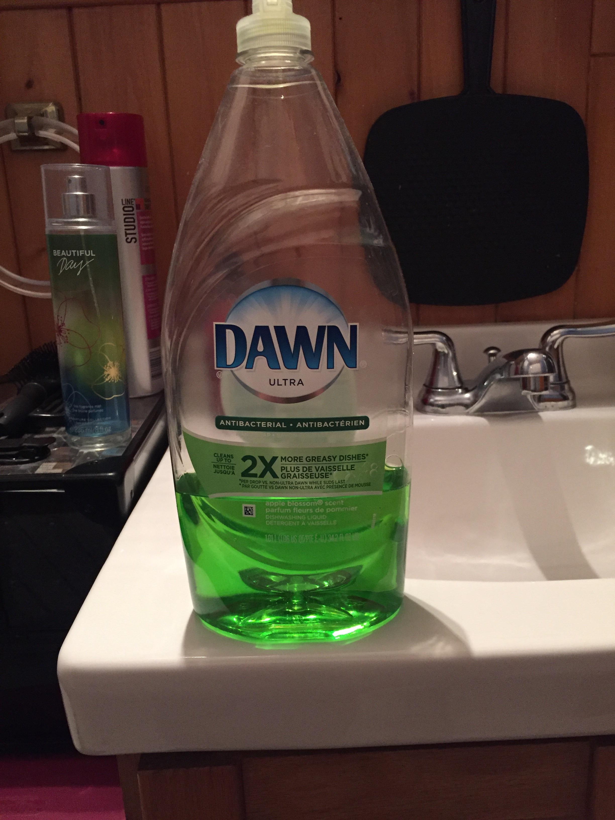 Dawn Ultra Antibacterial Dishwashing Liquid, Apple Blossom