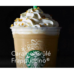 Starbucks caramel brûlée frap