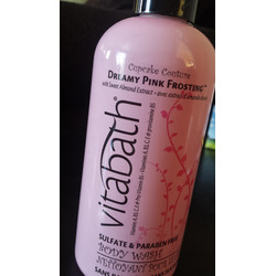 Vitabath Dreamy Pink Frosting Body Wash