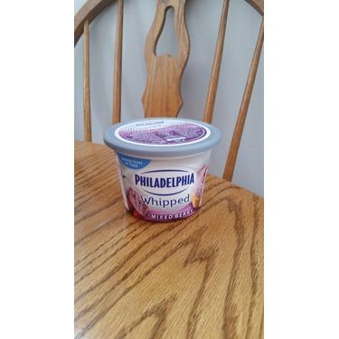 Philadelphia whipped mixed berry cream cheese
