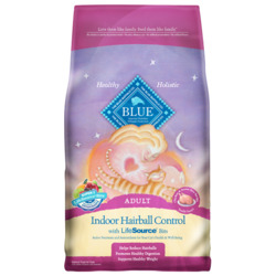 Blue Buffalo Indoor Hairball Control Chicken & Brown Rice Cat Food