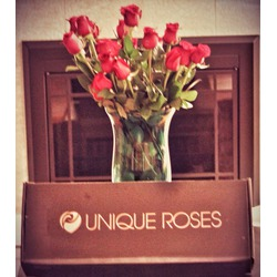 Unique Roses   Personalized Embossed Roses