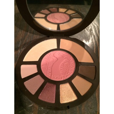 Tarte amazonian after dark eyeshadows and face palette