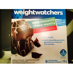 Weight watchers mint chocolate Brownie bliss