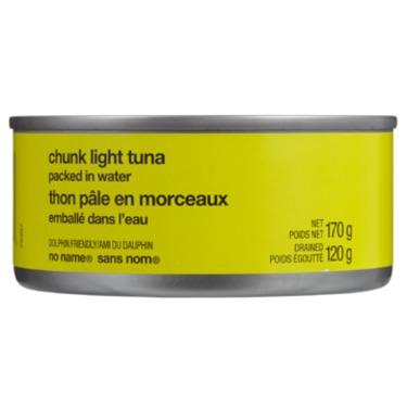 no name chunk light tuna
