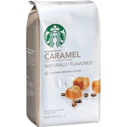 Starbucks Natural Fusions Ground Coffee, Caramel Flavored
