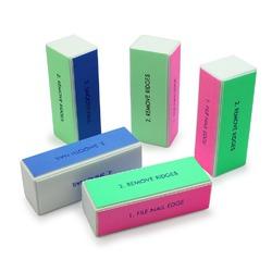 5pcs Nail Art Shiner Buffer 4 Ways Polish Sanding File Block Manicure Product