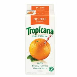 Tropicana, Orange Juice, No Pulp