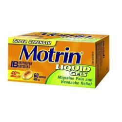 MOTRIN Liquid Gels Super Strength