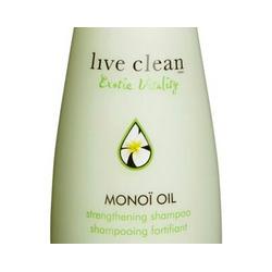 Live Clean – Monoi oil strengthening shampoo