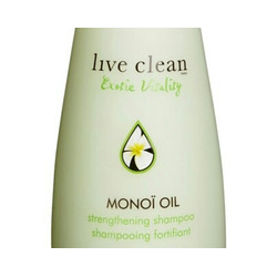 Live Clean – Monoi oil strengthening shampoo