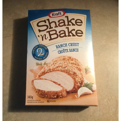 Shake n bake ranch crust