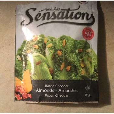 Salad sensations bacon cheddar almonds