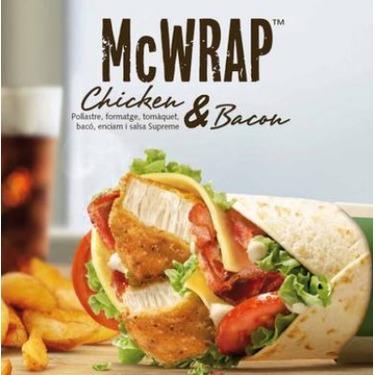 McDonald's Chicken & Bacon Signature McWrap