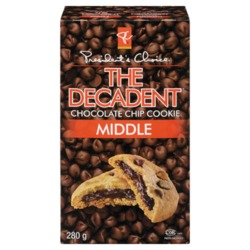 The Decadent chocolate chip cookie middle