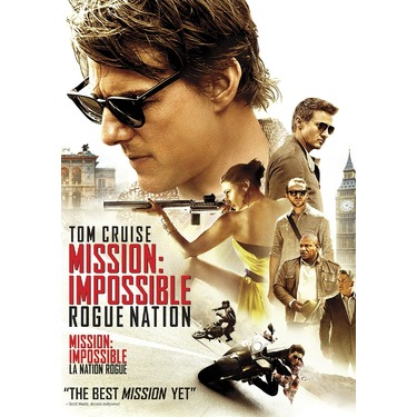 Mission: Impossible - Rogue Nation2015 Starring: Tom Cruise