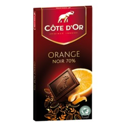 Côte d'or orange noir 70%