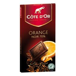 Côte d'or orange noir 70%